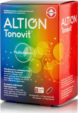 Altion Tonovit Multivitamin 40 capsules