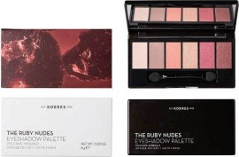 KORRES Volcanic Minerals The Ruby Nudes Eyeshadow Palette 6g