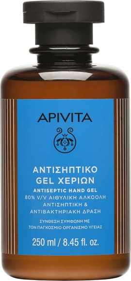 Gel antiséptico para manos APIVITA 250ml