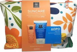 Apivita Set Suncare Anti-Wrinkle Face Cream SPF50 50ml + Δώρο Sunbody After Sun Cooling Cream-Gel με Σύκο & Αλόη 100ml