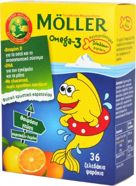 NATURE`S MOLLER`S Omega-3 Jellyfish 36