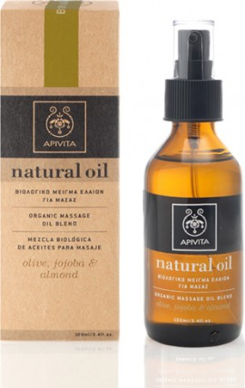 APIVITA NATURAL OIL ORGANIC MASSAGE OIL 100ml