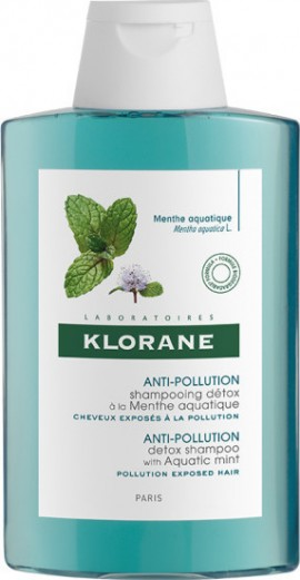 KLORANE Anti-Pollution Detox Shampoo mit Aquatic Mint 200ml