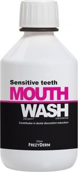 FREZYDERM Sensitive Teeth Mouthwash 250ml