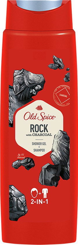 OLD SPICE Rock con Carbón 250ml