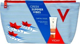 VICHY Capital Soleil Anti-Ageing SPF50+ 50ml & ΔΩΡΟ Νεσεσέρ