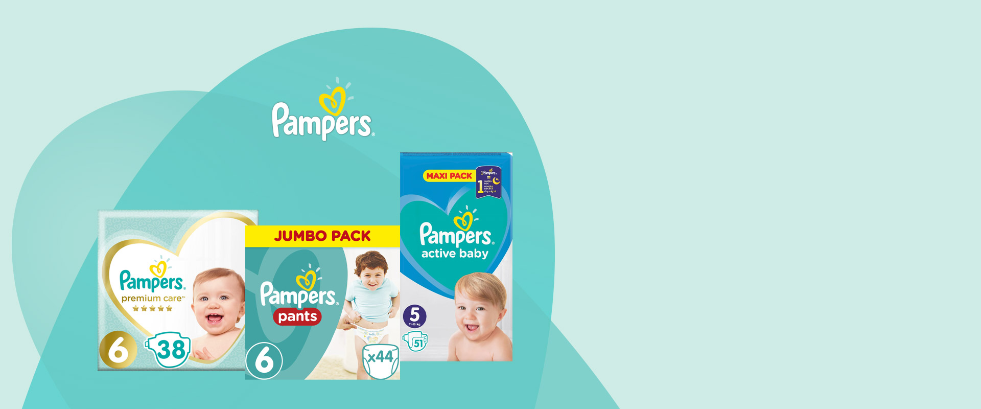 PAMPERS UP TO -45%